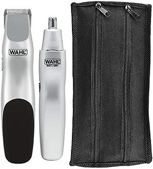 Wahl Groomsman Battery Powered Beard, Mustache, Hair & Nose Hair Trimmer