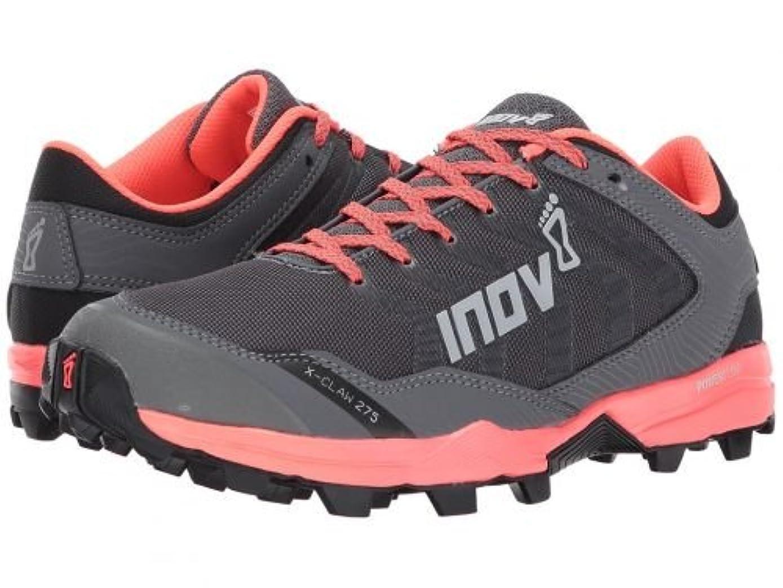 爆風さびた疲労Inov-8(イノヴェイト) レディース 女性用 シューズ 靴 スニーカー 運動靴 X-Claw 275 - Grey/Coral [並行輸入品]