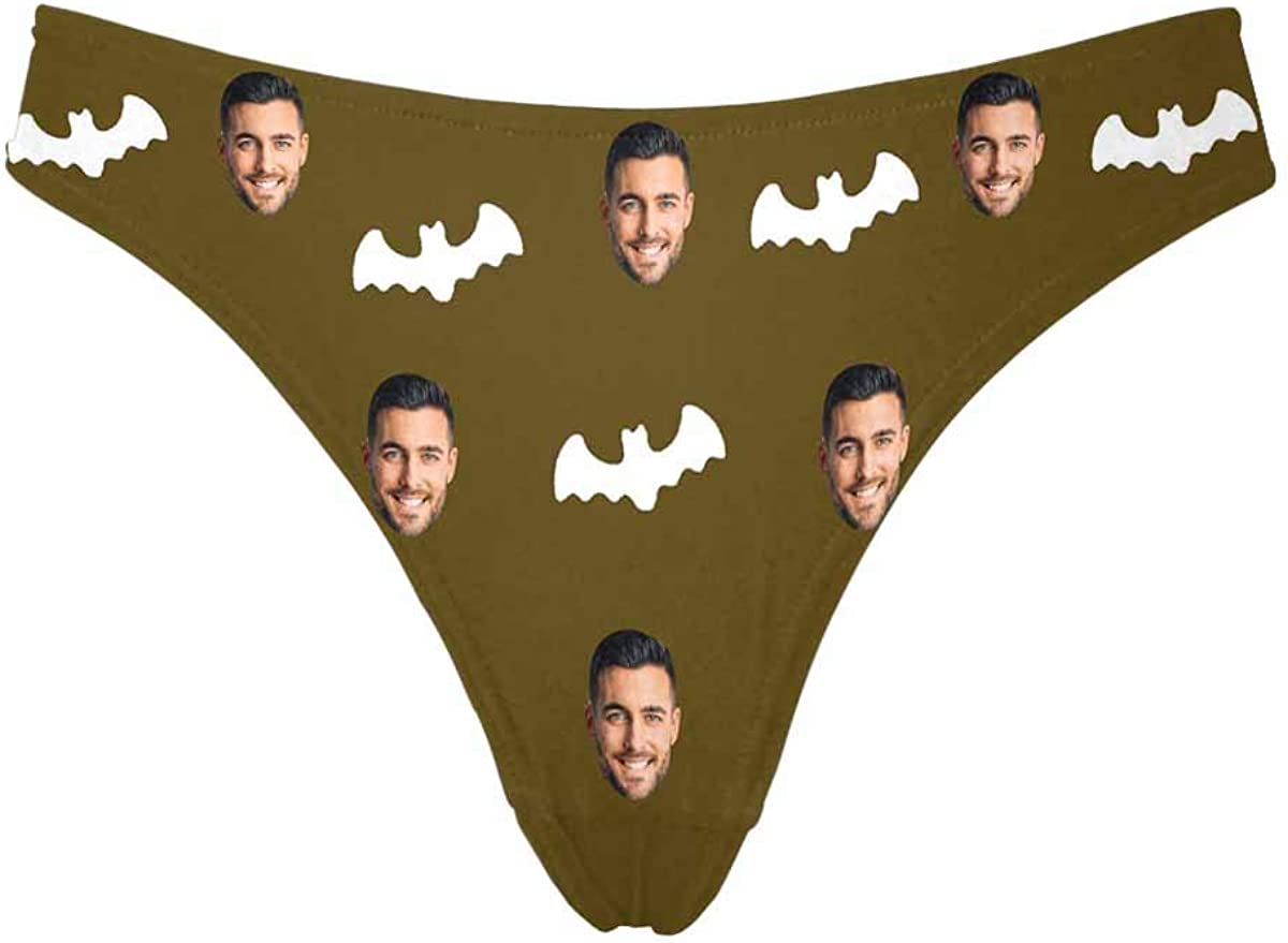 Custom Directly managed store Factory outlet Face Thong Personalized Woman Cute for Ha Bats Underwear