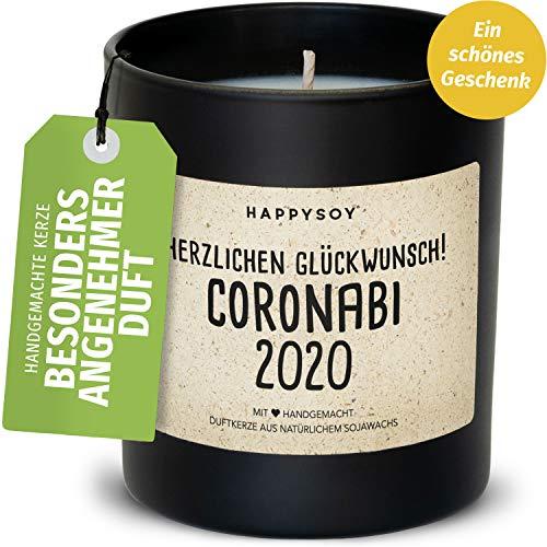 Happysoy - Vela aromática en vaso de soja, 100 % natural, hecha a mano, regalo personalizado, mejor amiga, hija, hija, hija, graduación, escuela
