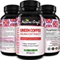 Best Seller Green Coffee Bean Extract for Weight Loss Dietary Supplement Maximum Strength Vitamins #1 Antioxidant Increase Energy Boost Metabolism Control Hunger for Women & Men by Huntington Labs