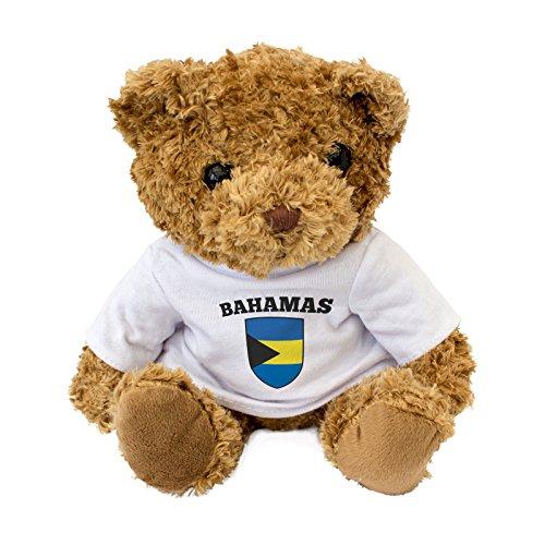 Bahamas vlag, schattige en knuffelige teddybeer - verjaardagscadeau kerstfan