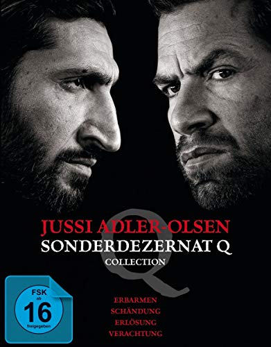 Jussi Adler-Olsen: Sonderdezernat Q - 4 Filme Collection [Blu-ray]