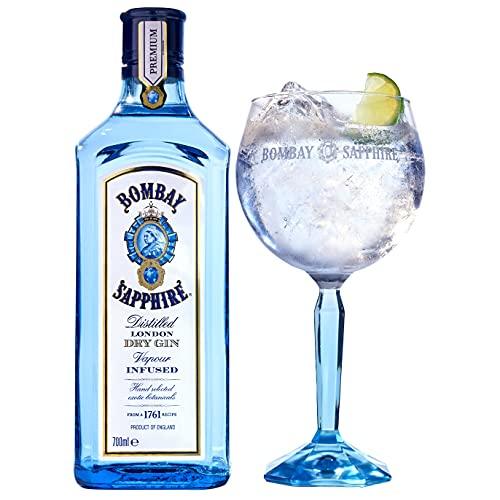 Bombay Ginebra Bombay Sapphire 70Cl Exclusivo Pack Con Copa De Regalo - 700 ml