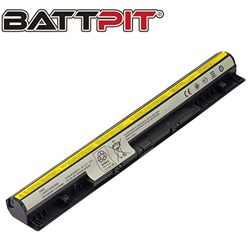 BattPit Laptop Battery for Lenovo L12M4E01 L12S4E01 L12S4A02 L12L4A02 L12L4E01 L12M4A02 Z50-70 S510p G400s G500s G505s IdeaPad Z710 - High Performance [4-Cell/2200mAh/32Wh]