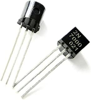 25 Pcs 2N7000 N CHANNEL MOSFET, 60V, 200mA, TO-92 by Tech Express