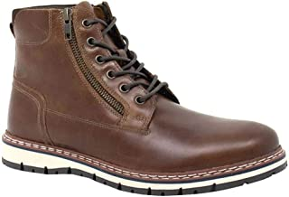 Crevo Rhet Men's Leather Ankle Boots