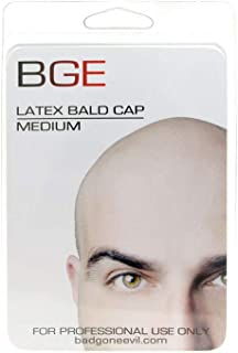 BGE Medium Latex Flesh Tone Bald Cap