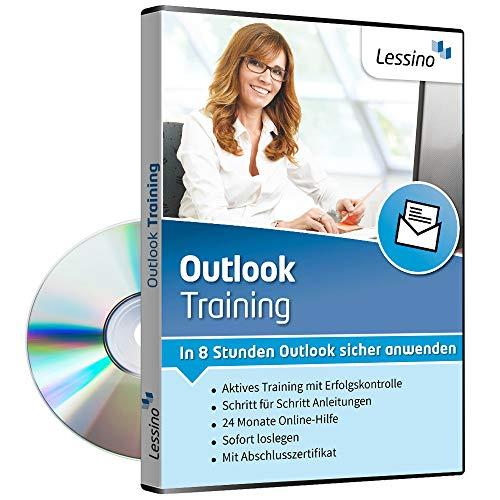 Outlook Training - In 8 Stunden Outlook sicher anwenden | Einsteiger und Auffrischer lernen mit diesem Kurs Schritt für Schritt die sichere Anwendung von Outlook 2010, 2013, 2016 und 2019[1 Nutzer-Lizenz]