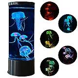 Jellyfish Lava Lamp Multi-Color Changing Aquarium Night Light...