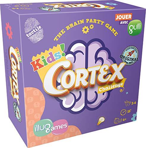Cortex Kids - Asmodee - Jeu de société - Jeu d'ambiance - Jeu de réflexion et de mémoire - Jeu de rapidité