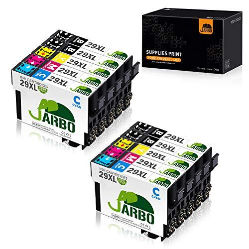 JARBO Ersetzt für Epson 29XL 29 XL Druckerpatronen hoher Reichweite für Epson Expression Home XP-235 XP-245 XP-247 XP-255 XP-257 XP-342 XP-345 XP-352 XP-355 XP-432 XP-442 XP-445 XP-452, 10er-Pack