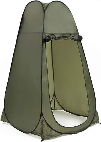 Sakuldes Tente de Toilette Mobile pour Tente de Douche escamotable extérieure portative (Couleur   vert)