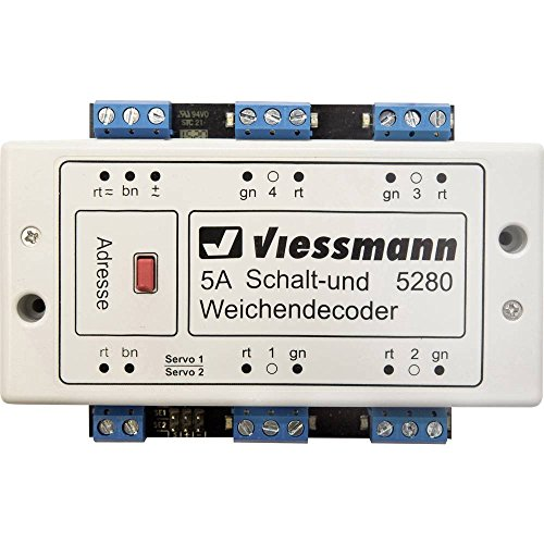 Viessmann 5280 Schalt- und Weichendecoder Baustein