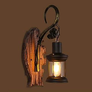 Amazon.es: lámparas pie madera