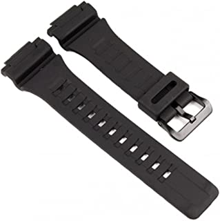 watch strap watchband Resin Band black for AQ-S810W AQ-S810