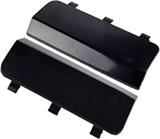 XYXYMY Black Car Rear Bumper Tow Hook Cover Cap FIT for Mercedes Benz ML320 ML350 1998-2005 A1638801605 (Color : Black)