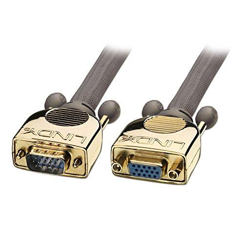 LINDY Cable VGA Oro M/f 20m VGA Cable Conexiones a