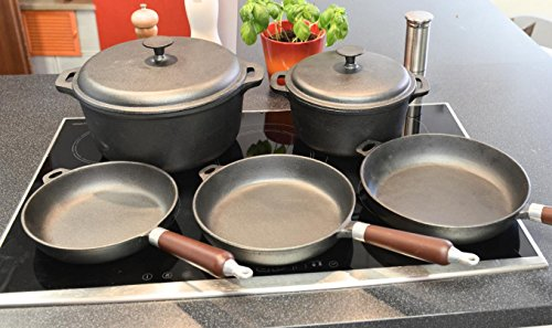 Batería Cocina Hierro Marca Hausnutz