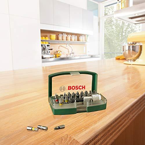 Bosch 2607017063 Screwdriver Bit Set with Colour Coding 32 Pcs