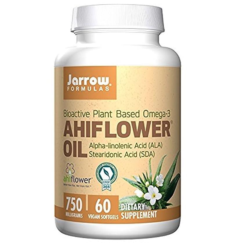 質量合併症同級生【海外直送品】Jarrow Formulas - Ahiflower Oil - 60ソフトジェル アヒフラワー