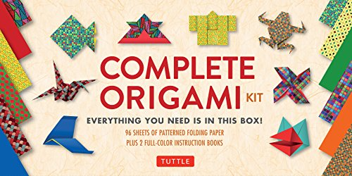 Complete Origami Kit: [Kit with 2 Origami How-to Books, 98...