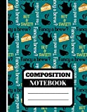 Fancy A Brew? (COMPOSITION NOTEBOOK): Cute Tea Themed Pattern Print Writing Gift - Tea Lined Notebook (College Ruled) for Men and Women
