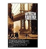 tgbhujk Film Es war einmal in Amerika Poster Wandkunst