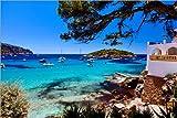 Poster 60 x 40 cm: Mallorca - traumhafte Bucht von Jürgen