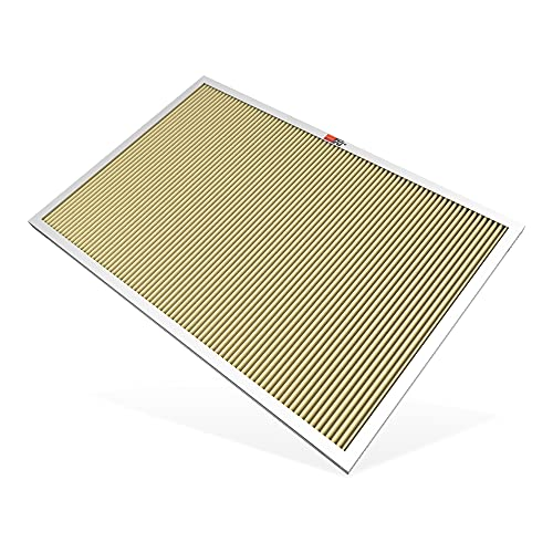 K&N 20x30x1 HVAC Furnace Air Filter, Lasts a Lifetime, Washable, Merv 11, the Last HVAC Filter You Will Ever Buy, Breathe Safely at Home or in the Office (Actual Dimensions.8 x 29.6 x 19.6 inches)