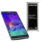 Samsung - Batería para Samsung Galaxy Note 4 (3220 mAh, EB-BN910BBE)