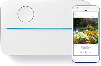 Rachio 3 WiFi Smart Lawn Sprinkler Controller, Works with Alexa, 8-Zone (Renewed)