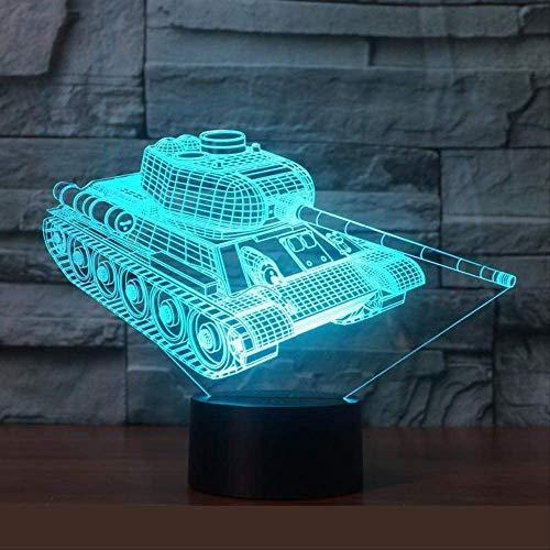 Lámpara de noche 3D con ilusión para mesitas de noche pequeñas, regalo de Navidad, para niños, Desk, Halloween, Navidad