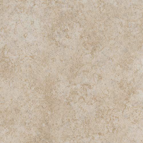 Vinylboden PVC Bodenbelag | Steinoptik Betonoptik creme hell | 200, 300 und 400 cm Breite | Meterware | Variante: 2,5 x 3m