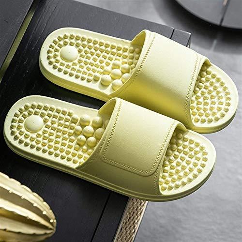 YQDSY Dusche Sandale Hausschuhe Männlich Und Weibliche Akupoint-Massagetherapie-Hausschuhe, Badezimmer-Massage-Dusche Schnell Trocknend Weichen Unten Open-Toed-Hausschuhe Offene Hüt