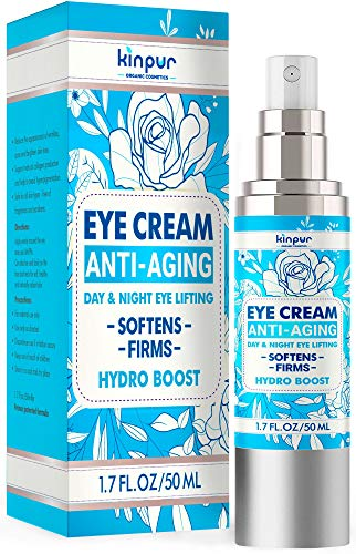 Under-Eye Cream for Dark Circles and Puffiness - Moisturizes, Protects, Rejuvenates - Made in The USA - Premium Anti-Aging and Anti-Wrinkle Cream for Eye Bags, Fine Lines, Crow's Feet