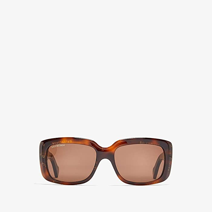 Balenciaga  BB0072S (Havana) Fashion Sunglasses