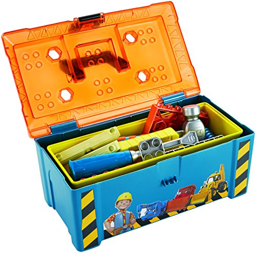 Bob el constructor - Everything Baby Profesiones Estuche de Juego, Juguete de rol para niños (Mattel DGY48)