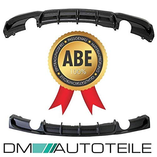 DM Autoteile Heckdiffusor hinten 335 Carbon Sport-Performance passend für F30 F31 M-Paket