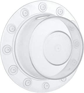 CATSRE Bottomless Bath Overflow Drain Cover Adds Water to Tub for Bath Deep Water Bath Overflow Drain Cover