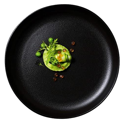 The Taste: Gourmetschale Ø 21,5 cm, Porzellan, schwarz - Das Original aus der Sendung - 2er Set