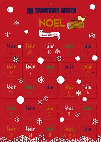 Calendario dell'avvento GOURMAND Natale 25 giorni – adulto donna – 25 ricette cucina di Natale – immagini – speciale degustazione