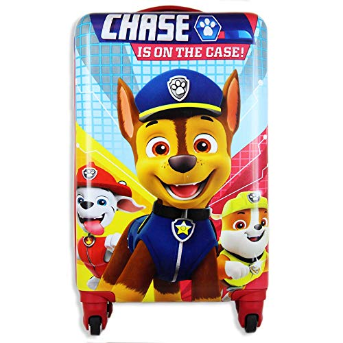 Paw Patrol Luggage for Kids 20 Inches Hard-Sided Tween Spinner Carry-On Kids Suitcase