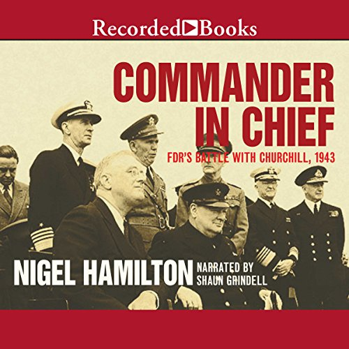 Commander in Chief audiobook cover art