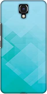 AMZER Handcrafted Designer Printed Slim Snap on Hard Case - Infinix Note 4 - Intersections 3