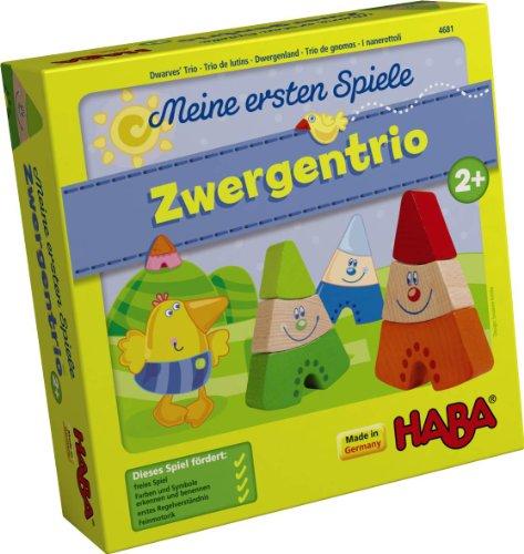 HABA 4681 - Meine ersten Spiele-Zwergentrio