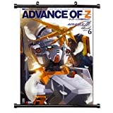 Advance Of Zeta The Flag of Titans Anime Fabric Wall Scroll Poster (32 x 43) Inches