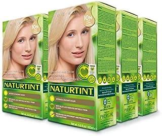 Naturtint, Permanent Hair Color - 10N Light Dawn Blonde, 5.6 fl oz (6-pack)