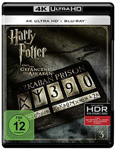 Harry Potter und der Gefangene von Askaban (4K Ultra HD) (+ Blu-ray) [Alemania] [Blu-ray]