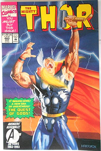 Thor #460 '1st Appearance of Valkyrie (Thor's Madness...